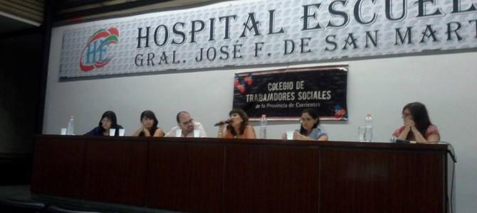 Jornada Regional de Reflexión «La intervención Profesional en el actual contexto» en Corrientes