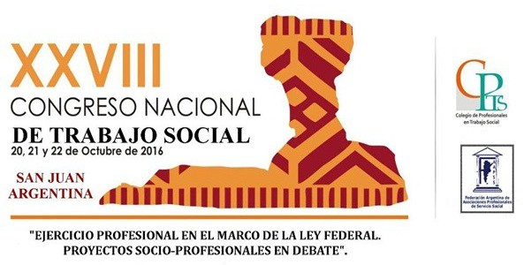 Tercer Circular del Congreso Nacional de Trabajo Social – San Juan 2016