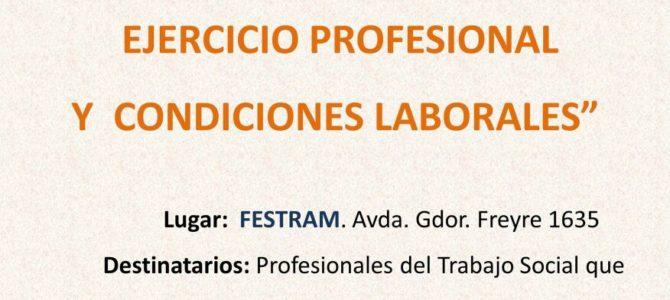 Jornada «Trabajo Social: Ejercicio Profesional y Condiciones Laborales»