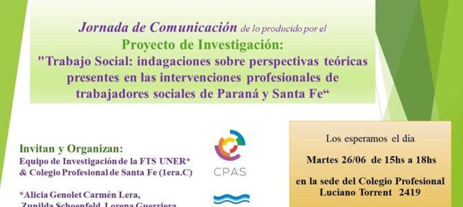 Jornada de comunicación