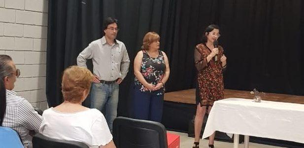 Juramento de nuevxs profesionales de la Delegación Reconquista  y Celebración del día del Trabajador Social.
