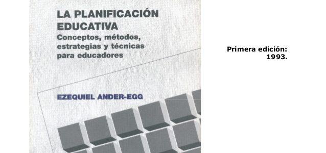 El proyecto curricular en las instituciones Educativas – Ander Egg