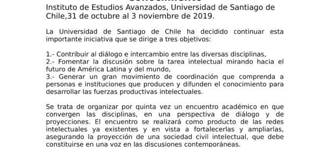 V Congreso Internacional Ciencias Tecnologías y Culturas