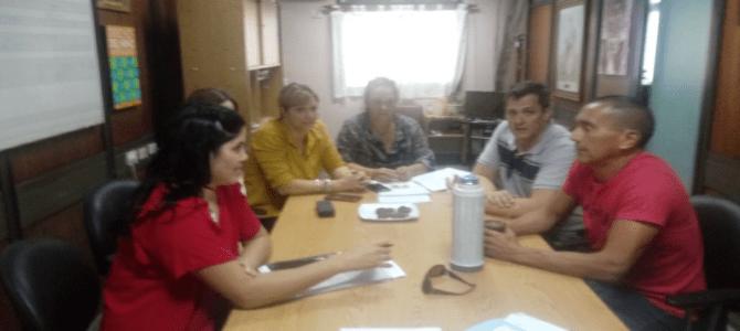 Reunión del CPAS con colegas y miembros del Consejo de Administración del Hospital de Niños