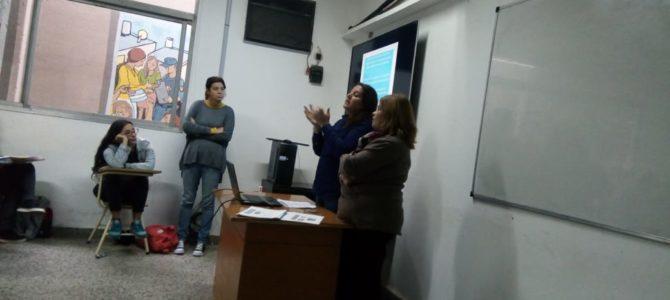 La Comisión de Ética del CPAS participó en una actividad en la Lic. en  Trabajo Social
