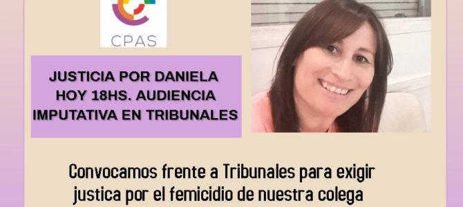 Justicia por Daniela: Convocatoria a Tribunales