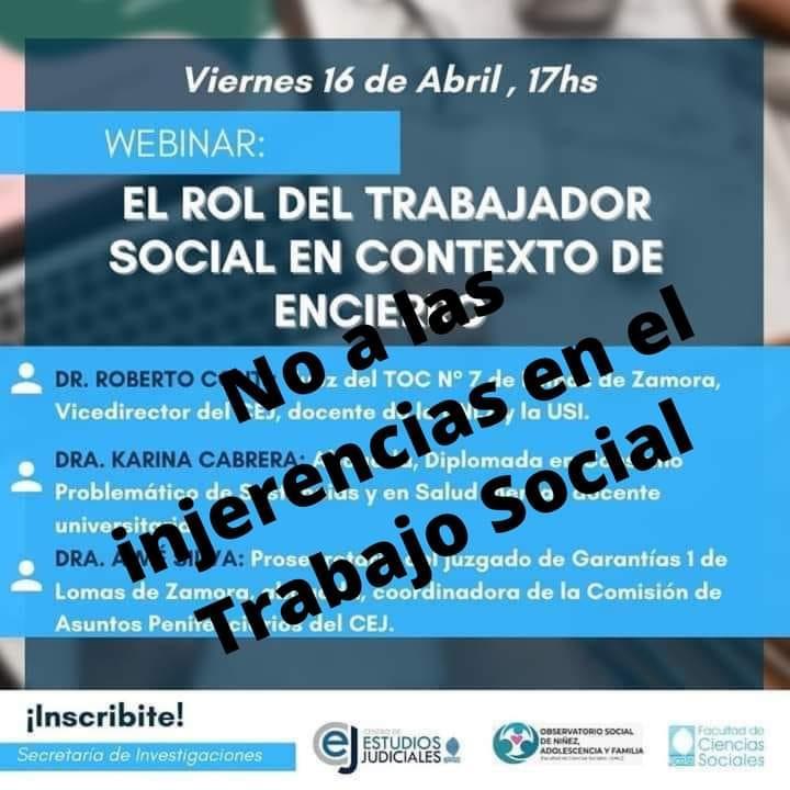 Pronunciamiento en repudio a actividad en la Universidad de Lomas de Zamora
