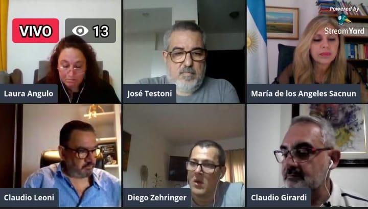 Con un importante panel se realizó el Conversatorio Pandemia y Teletrabajo