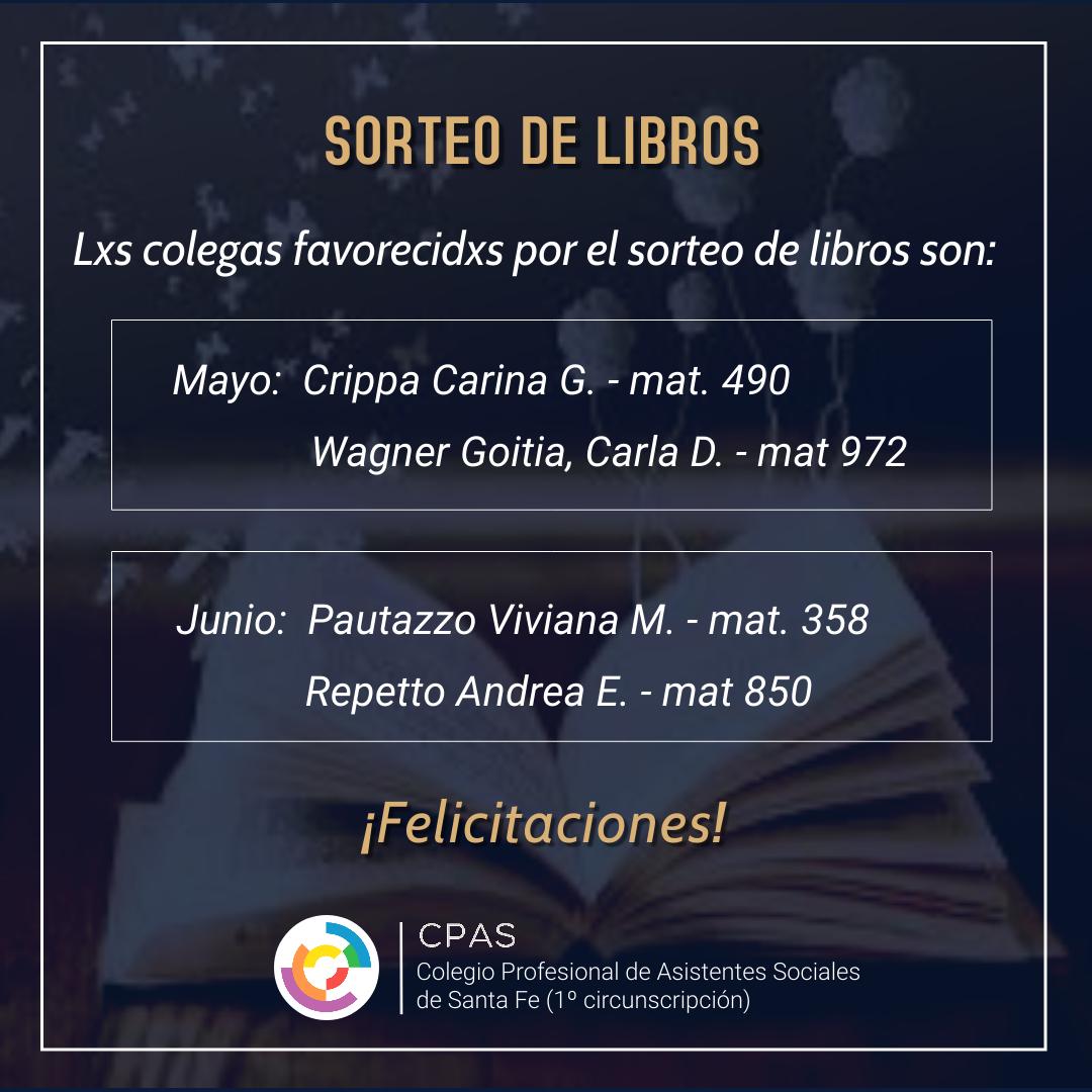 Sorteo de libros