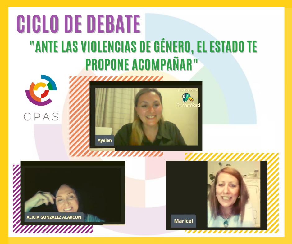 Se realizó el Ciclo de Debate «Ante las Violencias de Género, el Estado te propone ACOMPAÑAR»,