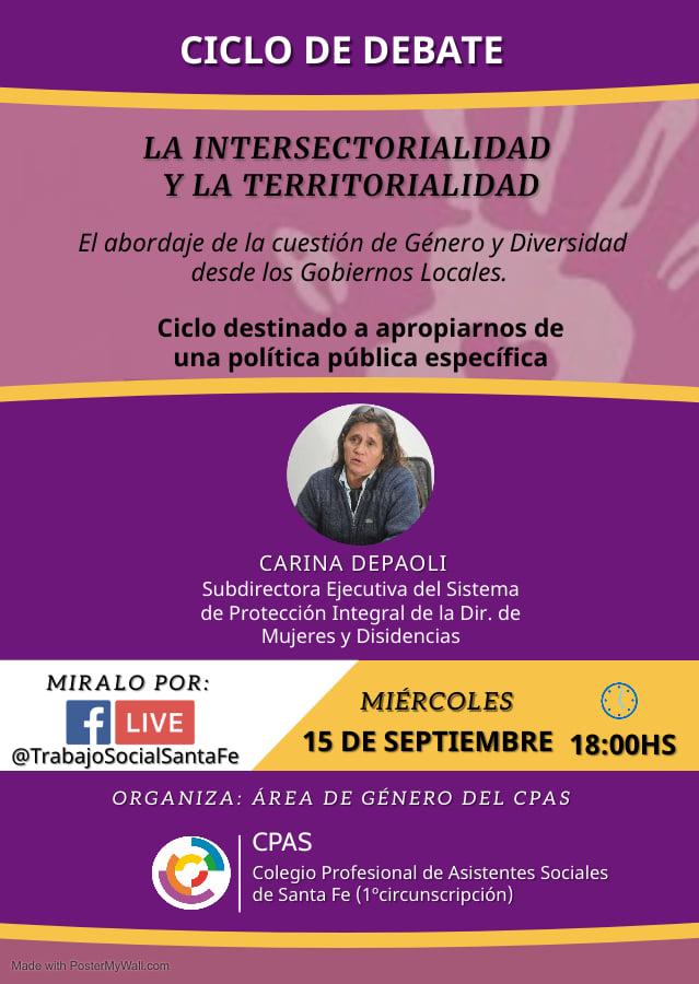 Ciclo de debate «La Intersectorialidad y la Territorialidad»